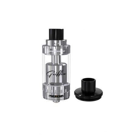 authentic-geekvape-griffin-25-plus-rdta-rebuildable-atomizer-silver-stainless-steel-5ml-25mm-diameter